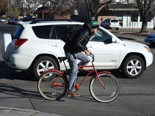 bike and car