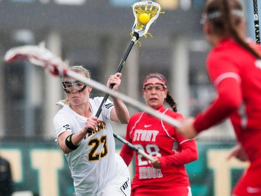 Stony Brook vs. Vermont Women's Lacrosse 04/26//14