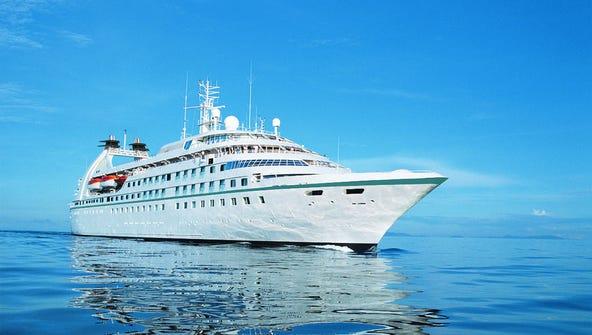 Windstar Cruises' Star Legend.
