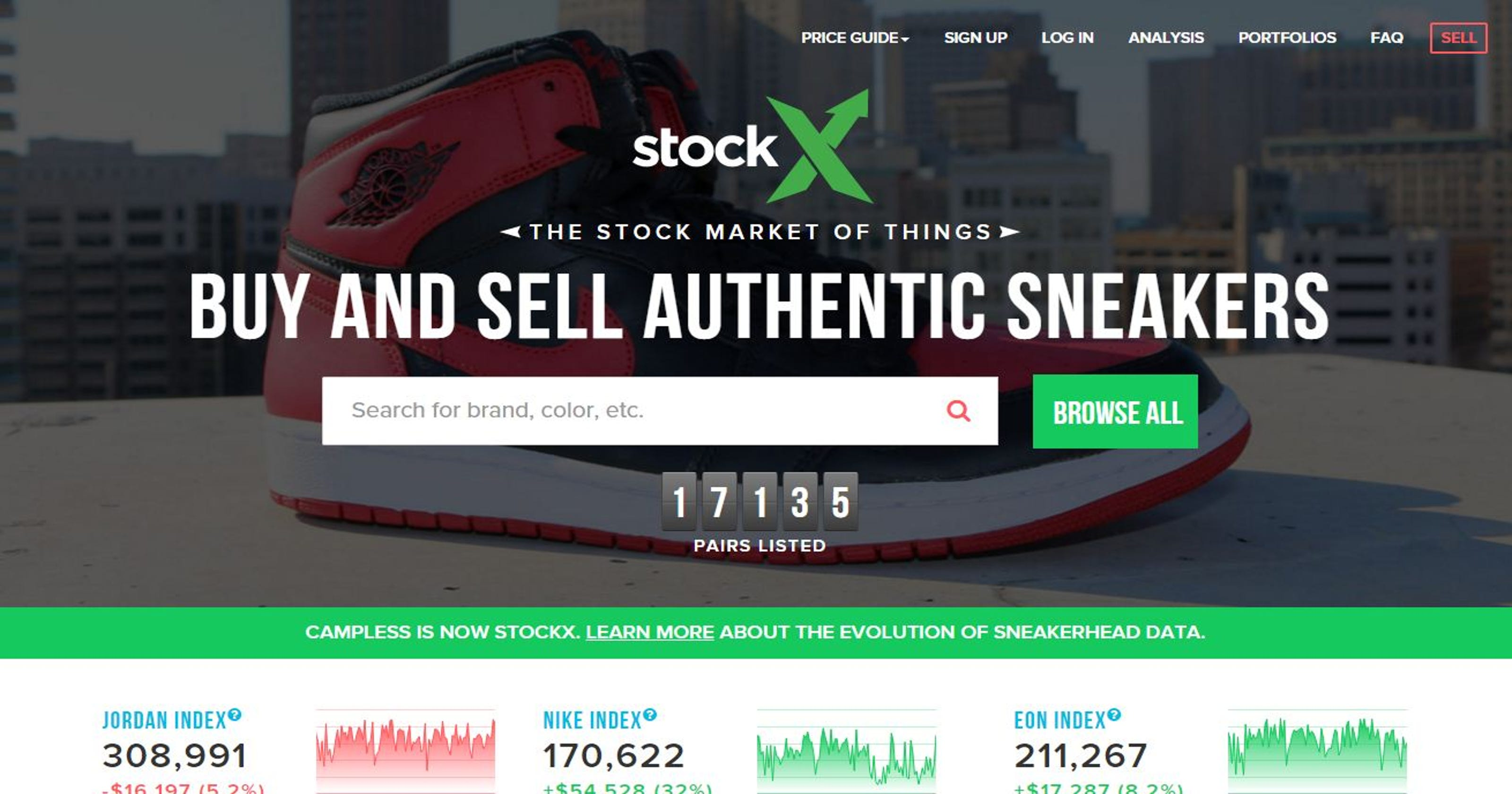 58599261 Gilbert launches StockX, the 'stock market of things'