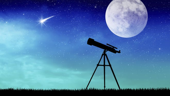 December is the perfect time to explore they night sky here.