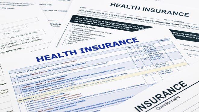 Only one health insurer, Blue Cross Blue Shield of Arizona, has filed paperwork with federal regulators and the state Department of Insurance to sell Affordable Care Act plans in all Arizona counties.