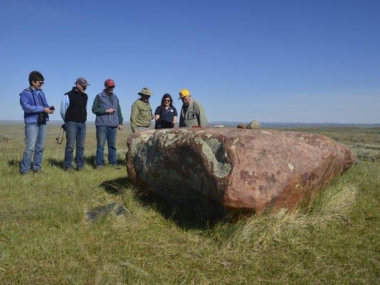 Indian Lake Medicine Rock