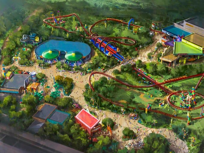The reimagining of Disney's Hollywood Studios will