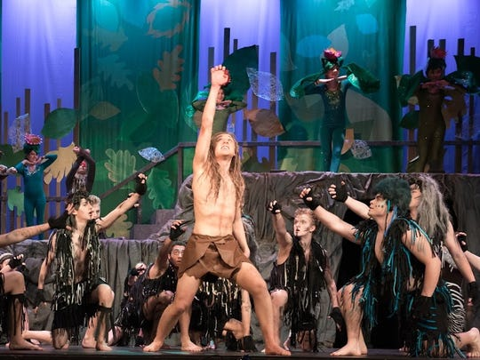 "Northern Valley Old Tappan High School's production of ""Tarzan"" is nominated for 11 Metro Awards, including outstanding overall production. The awards ceremony will be held June 12 at Purchase College in Purchase, New York."