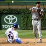 Casilla blows save as Giants lose 3-2 in 13 to Cubs