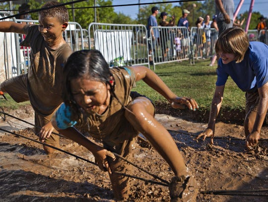 Get down and dirty at Mighty Mud Mania June 10 in Scottsdale.
