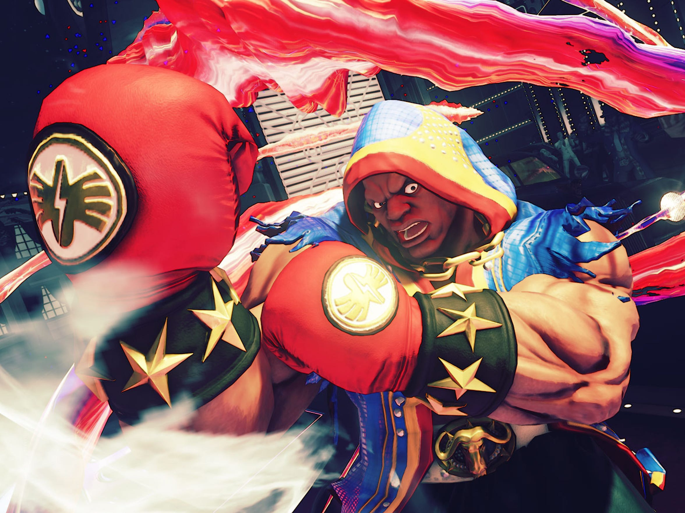 Mike Bison, er, Balrog returns to the fray in Street