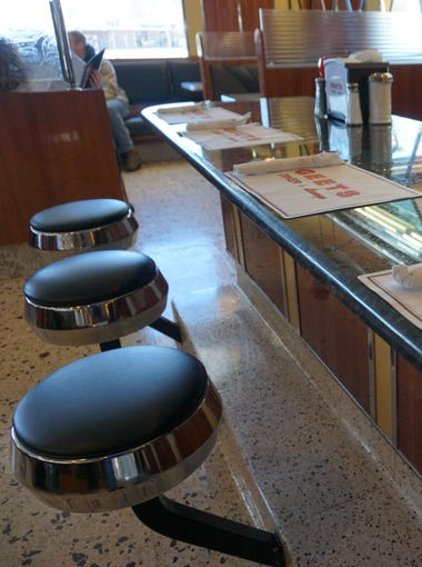 Geets Diner's new owners polished the iconic eatery's chrome and are ready to reveal the diner's face lift at the March 24, 2018 grand opening.