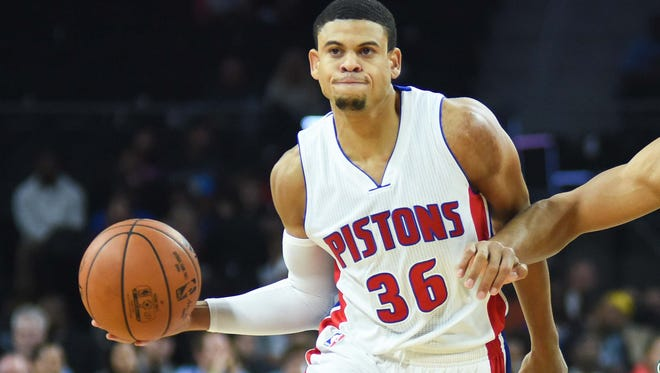 Pistons guard Ray McCallum.