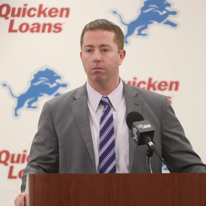 Lions general manager Bob Quinn talks about the team's
