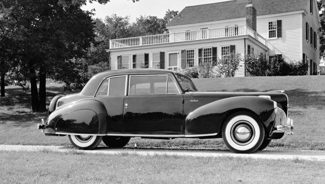 The 1941 Lincoln Continental.