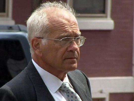 Former Marlboro Mayor Matthew V. Scannapieco, who pleaded
