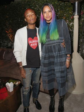 Pharrell Williams and wife Helen Lasichanh's son is