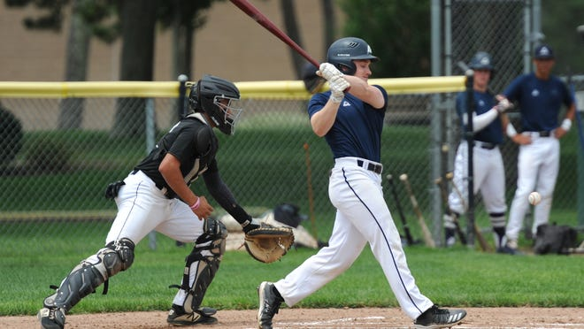 Team Cape Cod's Kevin Carrera had a two-run home run early Saturday in a blowout victory and helped the team grind out a win later that day with a key two-run double. He also scored in Sunday's win.