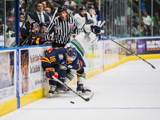 ECHL: Colorado Eagles Top Everblades 4-2, Force Game 7 In Kelly Cup Finals