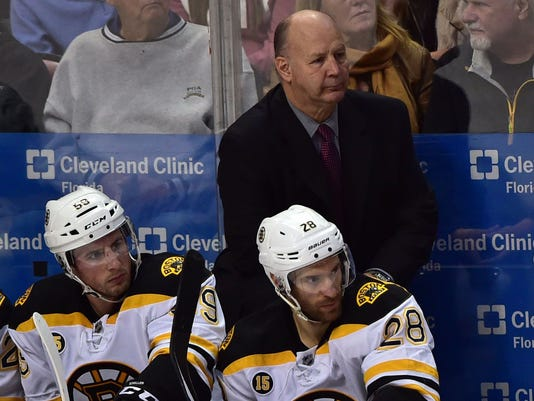 USP NHL: BOSTON BRUINS AT FLORIDA PANTHERS S HKN USA FL