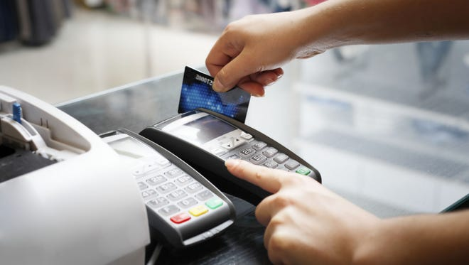 "You may have already received a card with the new microchip technology. However, only some retailers have new compatible card readers that let you ""dip"" your chip into the machine instead of swiping. And new cards also have a magnetic stripe, for any purchase you make at a retailer using the older systems."