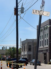 Littell Street at Main Street