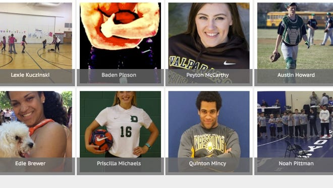 Nominees for I Am Sport Award, presented by Nike.