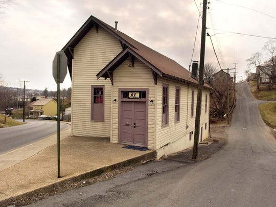 The Staunton Boxing Club marks one end of Jackson Street as it intersects with Cochran and Green streets.