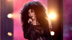 Cher performs during the 2017 Billboard Music Awards