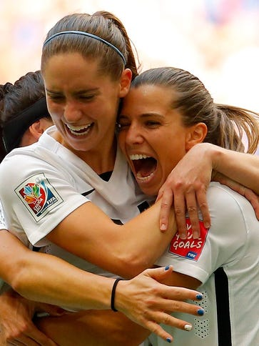 Morgan Brian and Tobin Heath represent the future of