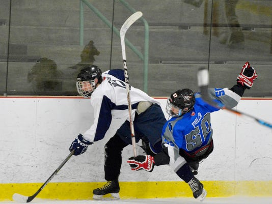 Dallastown vs Cedar Crest ice hockey