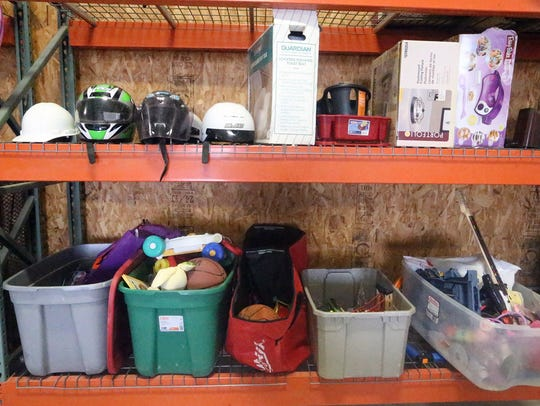 Free motorcycle helmets, sporting goods and other items