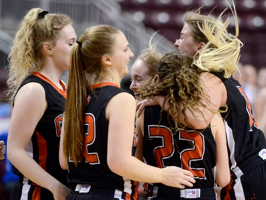 Central York vs Elizabethtown District 3 girls' basketball