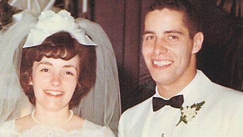 Mr. and Mrs. Hochstetler, 1965.