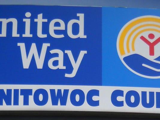 United Way Manitowoc sign