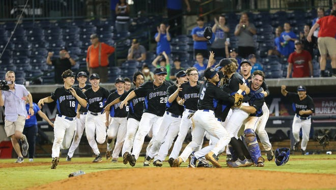 Pearl River Central and Oxford played in the MHSAA Class 5A Baseball Championship game on Saturday, May 20, 2017 at Trustmark Park in Pearl. Photo by Keith Warren
