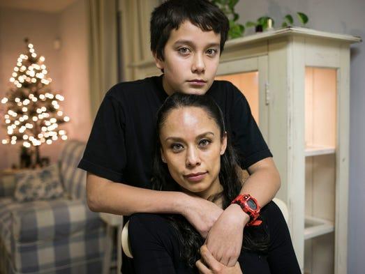 DACA recipient, Judith Jimenez with her U.S. born son