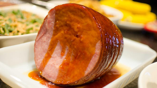 Apple-Ginger Glazed Ham is a must try.