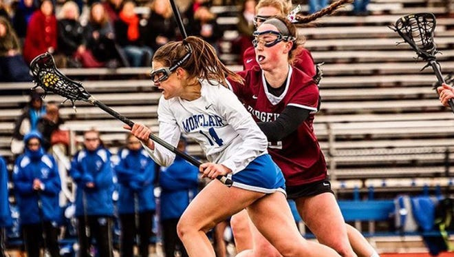 Nora Giordano had four goals for Montclair in a 14-8 win over Mahwah.