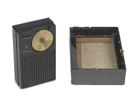 "The Regency TR-1, the first transistor radio made for commercial use, was part of the Indiana State Museum's ""Indian in 200 Objects"" exhibit earlier this year."