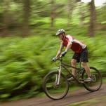Mountain biking file photo.