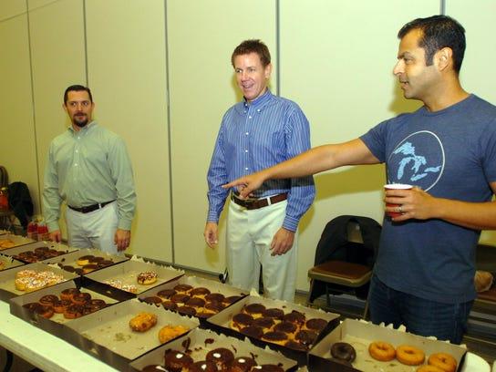 3 BHM Donuts