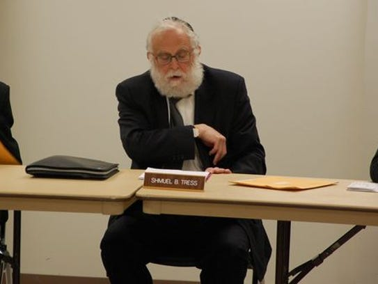 Ramapo Councilman Samuel Shmuel Tress is expected to