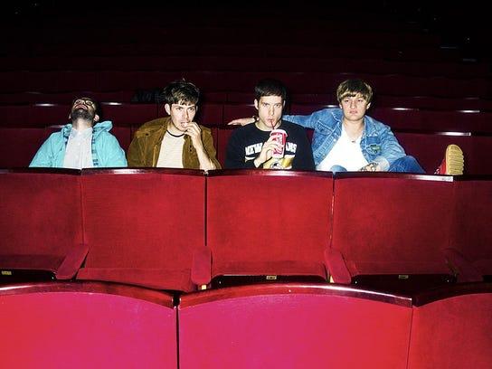 British rock band Life in Film plays Saturday at Higher