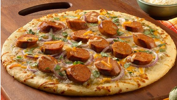 For a quick dinner, try this pizza.