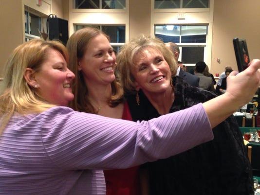 z selfie Teacher of the Year