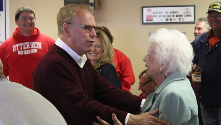 Strickland rallies with local Dems
