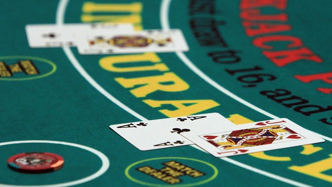 "Table games that will reopen at Twin River casinos will include blackjack, baccarat, Spanish 21, three-card poker and ""Let it Ride"" poker."