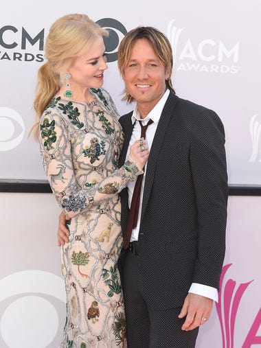 Actress Nicole Kidman, left, and singer Keith Urban