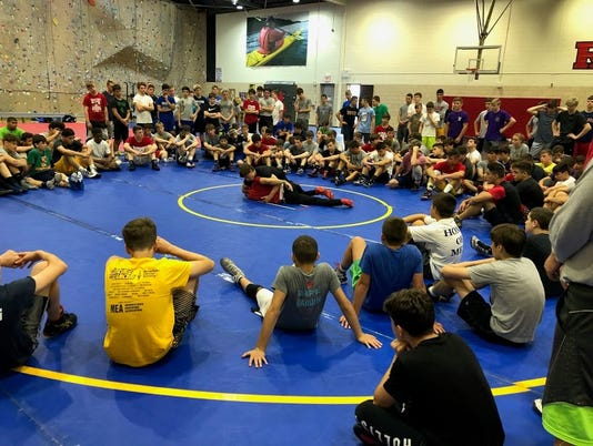 Rutgers wrestling camp
