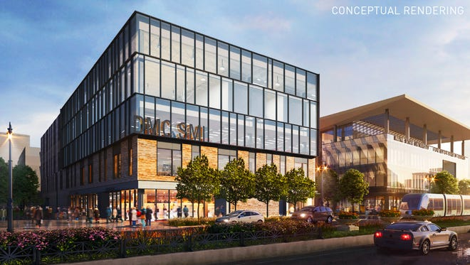 Detroit Medical Center and Olympia Development of Michigan announced Wednesday construction of a new sports medicine facility adjacent to Little Caesars Arena.