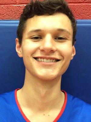 Union City High School boys basketball junior Zachary Bradbury