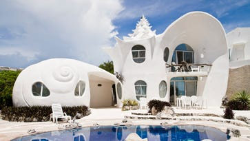 The Seashell House: Isla Mujeres, Mexico. $249/night. More info: https://www.airbnb.com/rooms/530250